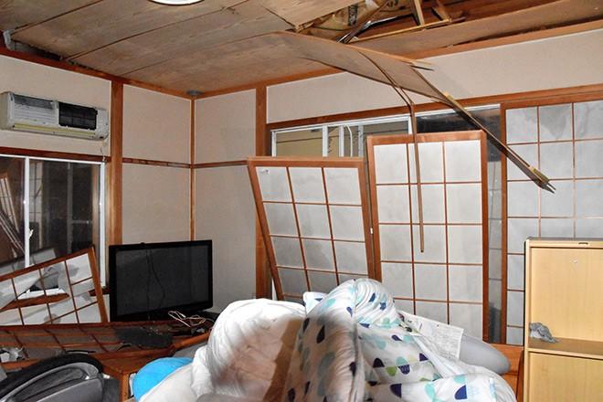 Fortes rajadas de vento danificam 92 construções no centro do Japão