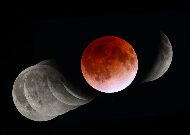 The best times to see rare 'super' blood moon in Australia
