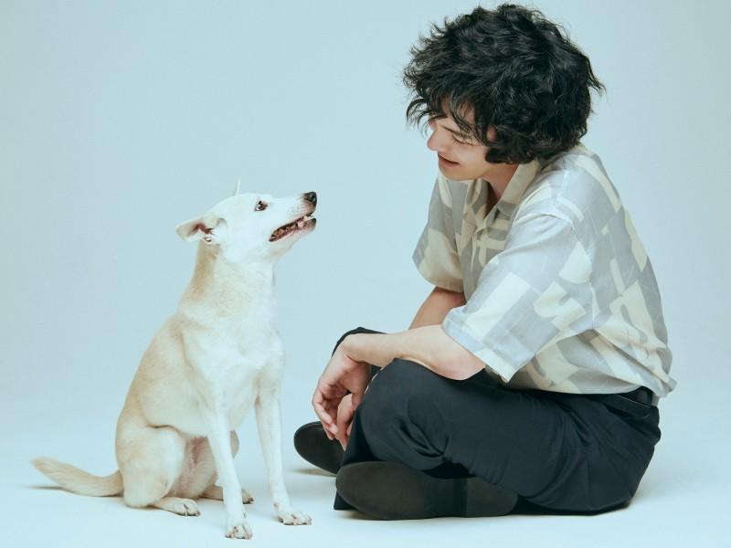 映画『犬部!』林遣都さんと花子
