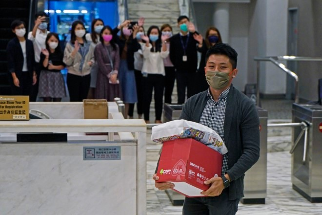 Lay-offs at Hong Kong TV station stoke new concerns over media freedom   The Asahi Shimbun: Breaking News, Japan News and Analysis