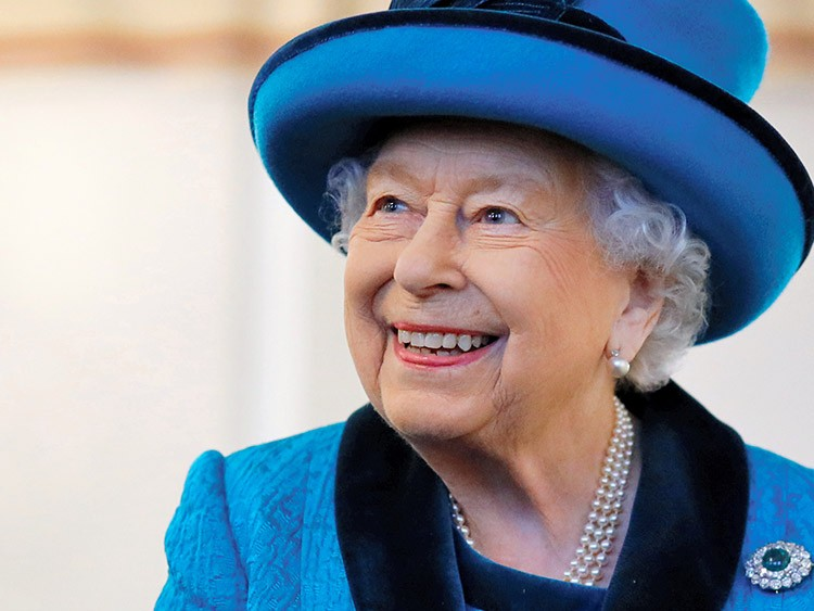 Britain's Queen Elizabeth visits the new headquarters of the Royal Philatelic society in London, Britain November 26, 2019.    Tolga Akmen/Pool via REUTERS