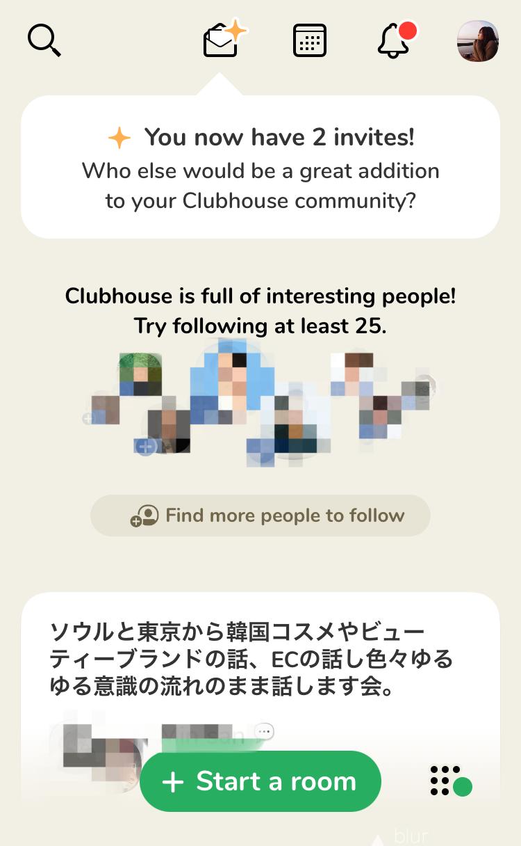 クラッカー clubhouse