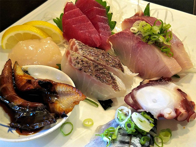 Shop for Japanese items at Iwataya's store, then treat yourself to sashimi in the restaurant.Markets Iwataya 3