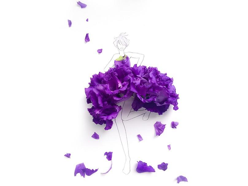 Snsで人気急上昇中の 花のドレス どんなふうにして作られているの