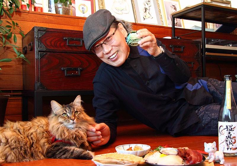 吉田類さんと愛猫