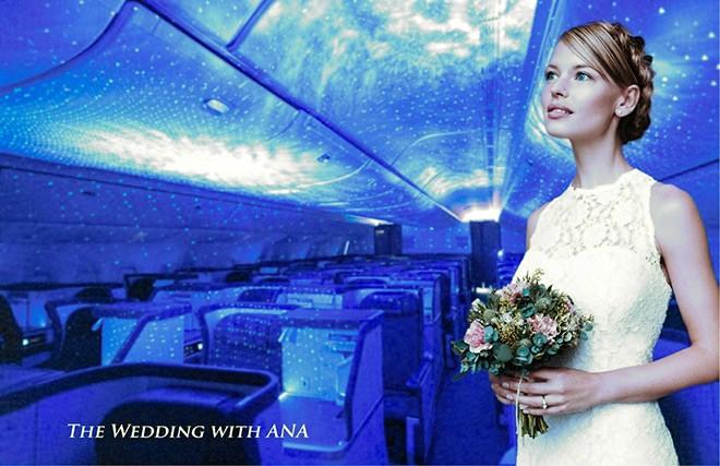 All Nippon Airways irá oferecer casamentos em seus aviões