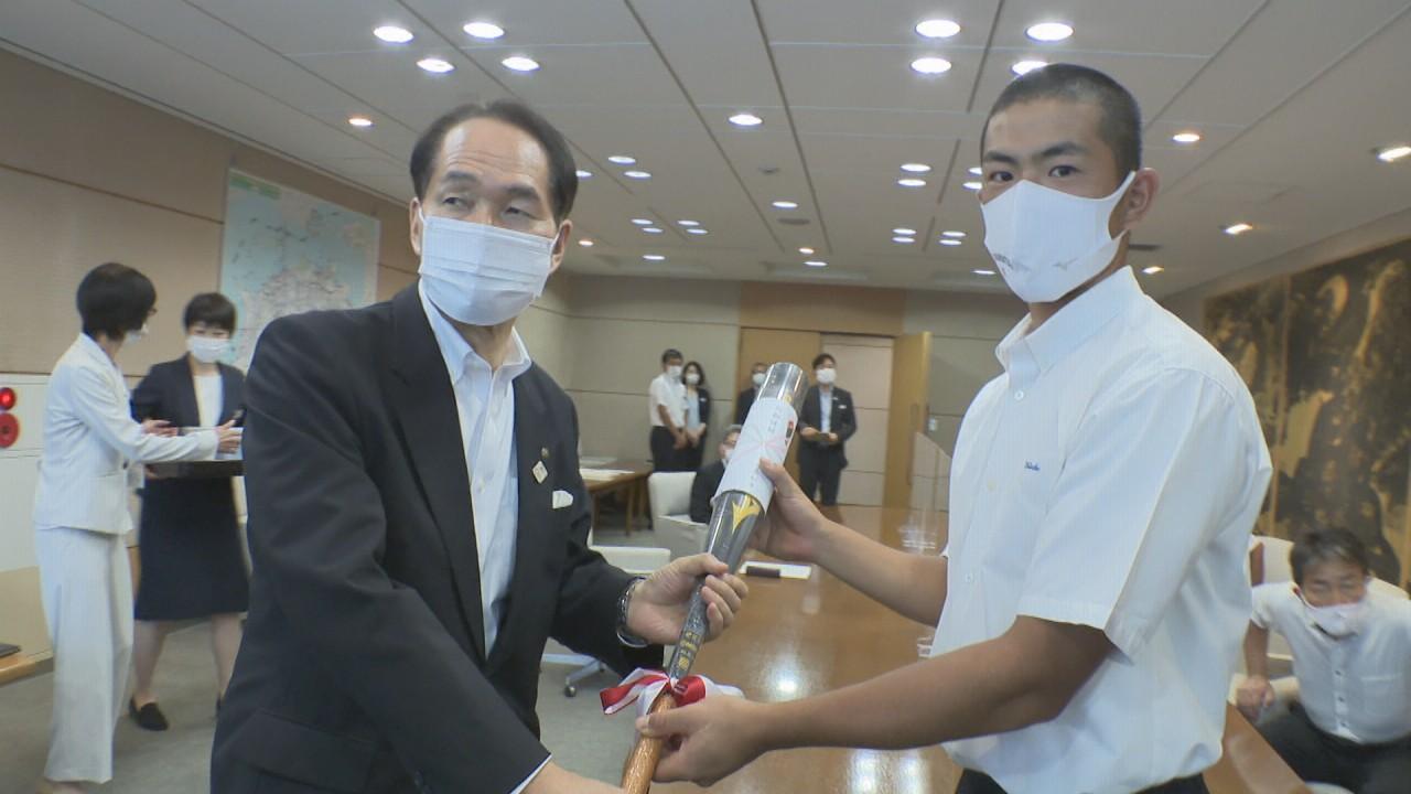 「憧れの先輩」を超える!甲子園決めた高松商業 主将らが香川県知事を訪問