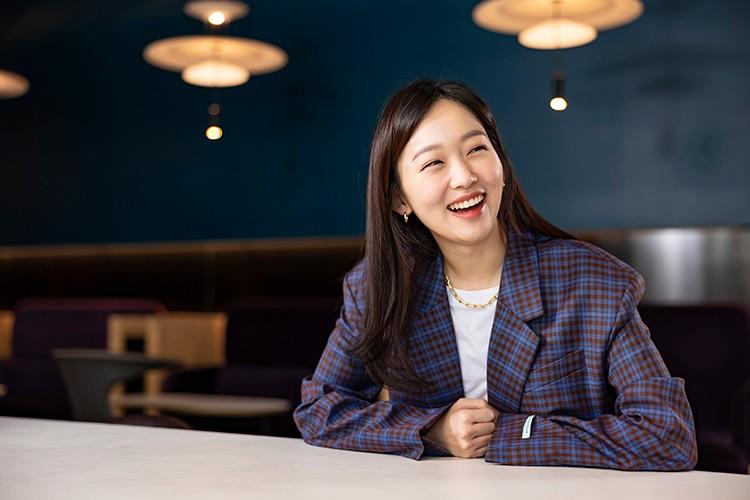 韓国の俳優チン・ギジュさん=Yong il Lee撮影