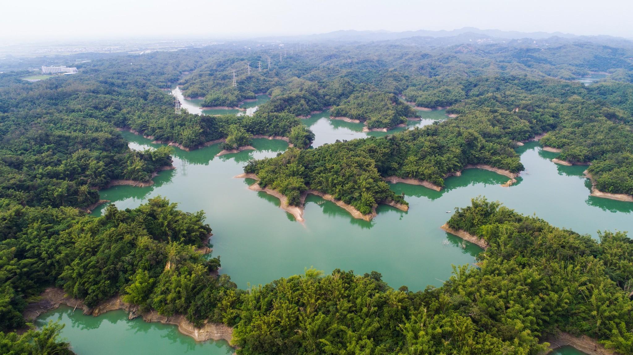 烏山頭ダム=Guanting Chen/Wikimedia Commons
