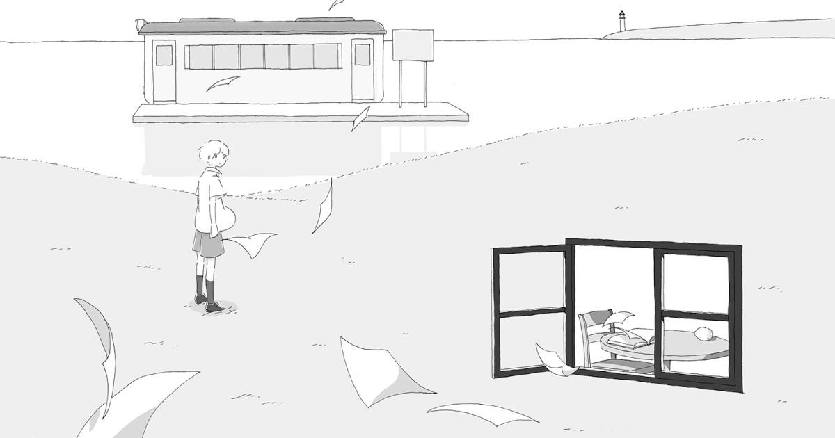 カシワイさん「光と窓」インタビュー 闇の中で遠くにある光もとめ、童話世界を漫画に|好書好日