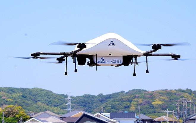Tigelas de carne Yoshinoya voam pelo céu em teste de entrega com drones