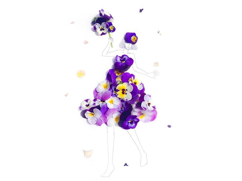 Snsで人気の 花のドレス どんなふうにして作られているの 冬編